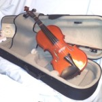 Violin set, including Case, Bow, Extra Strings, Tuner $200